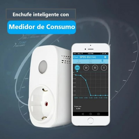 Enchufe Inteligente Broadlink SP3s